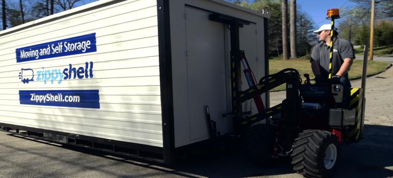 Loading onsite storage