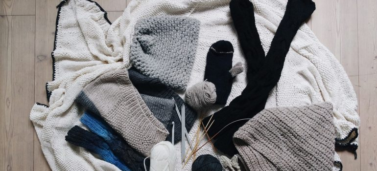 declutter before you store your winter gear