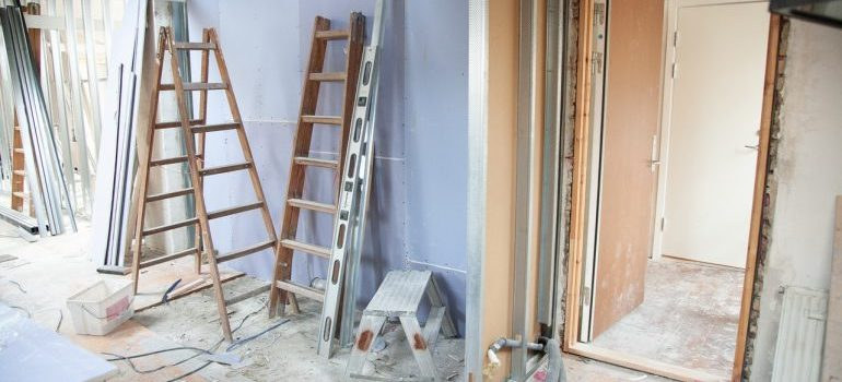 Picture of apartment renovations